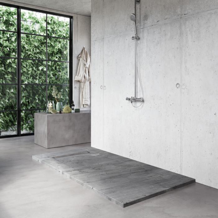 Concrete the contrast trend
