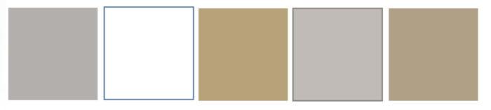 Color chart Golden Bathrooms