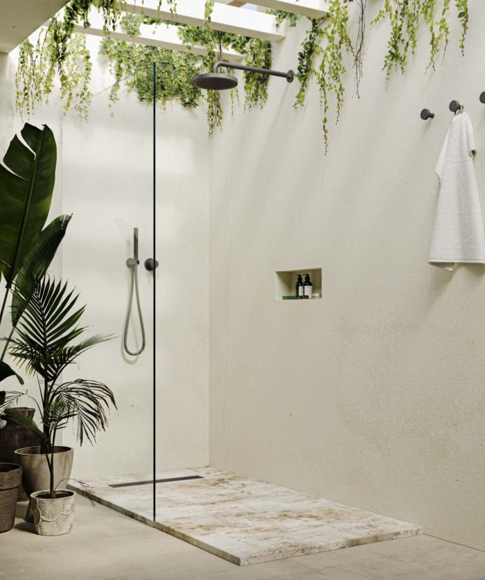 Lino - Bathroom with Summer, space